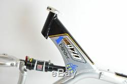UNIVEGA RAM970 alu road frame and rock shox sid rear shock! VVGC